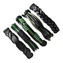 cheap Men's Bracelets-Men's Wrap Bracelet Leather Bracelet - Leather Rock Bracelet Black For Street Going out