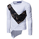 cheap Bakeware-Men's Sports Active Cotton T-shirt - Camouflage Round Neck