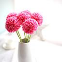 baratos Flor artificiali-Flores artificiais 5 Ramo Europeu Flores eternas Flor de Mesa