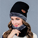 cheap Party Headpieces-Women's Headwear Cotton Blend Cotton / nylon with a hint of stretch Wool Blend Beanie / Slouchy-Solid Colored Pure Color Fall Winter Navy Blue Wine Light Brown