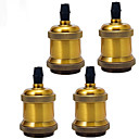 cheap Wall Sconces-4pcs E26/E27 the Socket Screw light socket Pendant Ceramics Light Socket Finished Fixture Replacement Industrial Vintage DIY Projects