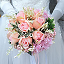 "cheap Wedding Flowers-Wedding Flowers Bouquets Wedding Polyester 9.84""(Approx.25cm)"