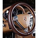 cheap Steering Wheel Covers-Steering Wheel Covers Genuine Leather 38cm Black / Beige / Coffee For Nissan All Models All years