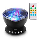 billige Original belysning-1set Sky Projector NightLight RGB / Farverig Usb Smart / For Børn / Fjernstyret 5 V LED / Moderne / Nutidig / Dæmpbar / Touch Sensor