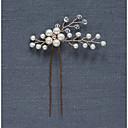 preiswerte Armbänder-Perle / Krystall Kopfbedeckung / Haarklammer / Haarnadel mit Blumig 1pc Hochzeit / Besondere Anlässe / Party / Abend Kopfschmuck