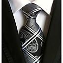 זול חליפות-עניבת צווארון - פסים עבודה / בסיסי בגדי ריקוד גברים