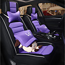 cheap Steering Wheel Covers-ODEER Car Seat Covers Seat Covers Black / Purple Linen Cartoon for universal All years