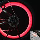 baratos Luzes de Bicicleta & Refletores-Luzes de Bicicleta / Luzes de Tampa de Válvula / luzes da roda LED Ciclismo backlight Baterias Lumens Bateria Ciclismo / Motocicleta