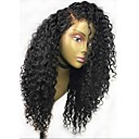 cheap Synthetic Capless Wigs-Human Hair Glueless Lace Front / Lace Front Wig Curly Wig 150% Natural Hairline Women's Long Human Hair Lace Wig
