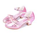זול נעלי ילדות-בנות נעליים מיקרופייבר PU סינתטי אביב קיץ נוחות / חדשני עקבים פנינים / אבזם ל זהב / כסף / ורוד