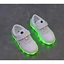 tanie Obuwie chłopięce-Dla chłopców Obuwie Syntetyczny Microfiber PU Jesień Wygoda Adidasy na Biały / Czarny