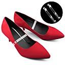 hesapli Ayakkabı Bağcıkları-2adet Plastik Ayakkabı Bağcıkları Kadın's Yaz Günlük Beyaz