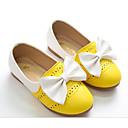 זול נעלי ילדות-בנות נעליים PU אביב נוחות / נעליים לילדת הפרחים נעליים ללא שרוכים ל צהוב / כחול