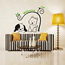 preiswerte Wand-Sticker-Tiere Mode Botanisch Wand-Sticker Flugzeug-Wand Sticker Dekorative Wand Sticker, Kunststoff Haus Dekoration Wandtattoo Wand