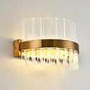 billige Flush Mount-lamper-QIHengZhaoMing Krystall / Enkel / Moderne / Nutidig Metall Vegglampe 110-120V / 220-240V 20W