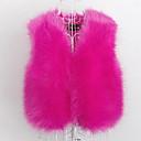 preiswerte Kleidersets für Mädchen-Damen - Solide Niedlich Aktiv Arbeit Pelzmantel Kunst-Pelz Fuchsfell