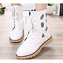 cheap Clutches & Evening Bags-Girls' Shoes PU Winter Comfort / Snow Boots Boots for White / Black / Red