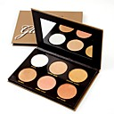cheap Eyeshadows-# / 6 Colors Makeup Set Powders Pressed powder Dry / Shimmer / Mineral Waterproof / Whitening / Long Lasting Face Alcohol Free / Cruelty Free / Formaldehyde Free Makeup Cosmetic