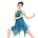 abordables Ropa de Baile para Niños-Ballet Vestidos / Lentejuelas Mujer Rendimiento Elástico / Lentejuelas / Licra Lentejuela Sin Mangas Vestido / Para la Cabeza