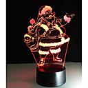 olcso Főzőedények-1set Dekorációs lámpa / LED éjszakai fény / USB fények USB / AkkumulátorBattery Dekoratív / Színváltós Művészi / LED / Modern / kortárs