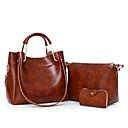cheap Bakeware-Women's Bags PU Bag Set Zipper Red / Gray / Brown