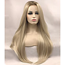 cheap Wall Stickers-Synthetic Lace Front Wig Straight Blonde Synthetic Hair Blonde Wig Women's Long Lace Front