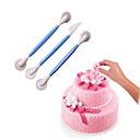 abordables Utensilios de Horno-Herramientas para hornear ABS Antiadherente / Herramienta para hornear / No pegajoso Pastel / para la torta / para la galleta Cortadores para galletas 3pcs