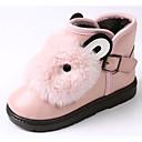 baratos Capas Para Tablet&Protetores de Tela-Para Meninas Sapatos Couro Ecológico Outono / Inverno Botas de Neve Botas para Cinzento / Vermelho / Rosa claro