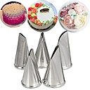 baratos Artigos de Forno-Ferramentas bakeware Aço Inoxidável + Plástico ABS Uso Diário Moldes de bolos 1pç