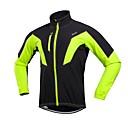baratos Ferramentas, Limpeza e Lubrificantes-Arsuxeo Homens Jaqueta para Ciclismo Moto Jaqueta de Inverno A Prova de Vento Inverno Vermelho / Verde / Azul Ciclismo de Estrada Assenta Relaxadamente Roupa de Ciclismo / Com Stretch