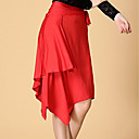 cheap Latin Dance Wear-Latin Dance Bottoms Women's Training Spandex Milk Fiber Natural Skirts