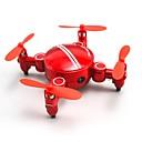 billige Veggklistremerker-RC Drone SHR / C SH1 200W 4 Kanaler 6 Akse 2.4G Med HD-kamera 720P Fjernstyrt quadkopter En Tast For Retur / Hodeløs Modus / Flyvning Med 360 Graders Flipp Fjernstyrt Quadkopter / Fjernkontroll