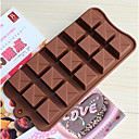 cheap Bakeware-Bakeware tools Silica Gel Chocolate Cake Molds 1pc