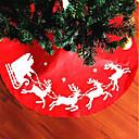 お買い得  クリスマスデコレーション-1個 クリスマスデコレーション ホリデー Tree Skirts, ホリデーデコレーション 31.0*26.0*1.0