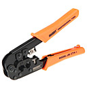 abordables Câble Ethernet-6 p 8 phernet ethernet internet câble pince à sertir réparation outils à main fil cutter coupe pinces outil
