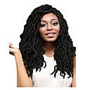baratos Tranças de Cabelo-Cabelo para Trançar Encaracolado / Crochê Dreadlocks / Extensões de Cabelo Natural / Dreadlocks / Faux Locs 100% cabelo kanekalon 20 raízes / pacote Tranças de cabelo Médio Cabelo Ombre para Extensão