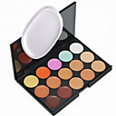 cheap Eye Kits & Palettes-Concealer Concealer / Contour Powder Puff Ammonia Free Formaldehyde Free Makeup Dry Wet Matte Long Lasting Breathability Normal 15 Colors Cosmetic Grooming Supplies / Shimmer