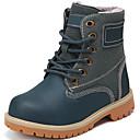 baratos Sapatos de Menino-Para Meninos Sapatos Pele Outono / Inverno Botas Cowboy / Country / Curta / Ankle / Forro de fluff Botas para Preto / Amarelo / Azul