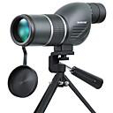abordables Binoculares, Monóculares y Telescopios-SUNCORE® 12-36 X 50 mm Monocular Profesional / Ajustable / A prueba de polvo Verde Ejército / IPX-7
