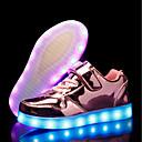 tanie Obuwie dziewczęce-Dla dziewczynek Obuwie PU Jesień / Zima Świecące buty Adidasy LED na Złoty / Srebrny / Różowy / Impreza / bankiet