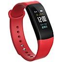 baratos Smartwatches-Pulseira inteligente BYM-B11 para Android iOS Bluetooth Calorias Queimadas Tora de Exercicio Pedômetros Anti-lost Controle de APP Podômetro Monitor de Atividade Monitor de Sono Lembrete sedentária