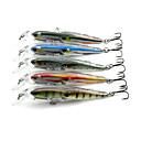 billige Fiskesluker & fluer-1 pcs Elritse Plast Søfisking / Fluefisking / Agn Kasting / Vippefiskeri / Lokke Fiske / Generelt fisking