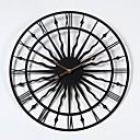tanie Nowoczesne/Współczesne Zegary Ścienne-Nowoczesny / współczesny Drewniany / Plastikowy Zaokrąglanie Domowy,Zasilane baterie AA