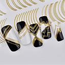 cheap Rhinestone & Decorations-1 pcs 3D Nail Stickers nail art Manicure Pedicure Fashion Daily