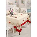 cheap Table Cloths-Cotton Blend Square Table cloths Patterned Eco-friendly Table Decorations 1 pcs