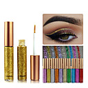 cheap Eyebrows-1Pcs Rainbow Colors Eyeshadow Glitter Long Lasting Waterproof Eyeshadow Eyeliner Makeup