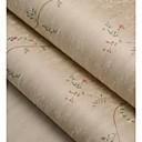 abordables Toiles-Imprimé Fond d'écran pour la maison Classique Revêtement , Tissu Non-Tissé Matériel adhésif requis fond d'écran , Couvre Mur Chambre