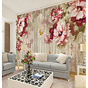 cheap Wall Murals-Floral Art Deco 3D Home Decoration Contemporary Classical Rustic Wall Covering, Canvas Material Adhesive required Mural, Room Wallcovering
