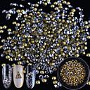 זול שפתונים-1 pcs נצנוץ תכשיטים לציפורניים ריינסטון חמוד עיצוב ציפורניים פדיקור מניקור יומי גביש / מסוגנן / חתונה / מסמר תכשיטים