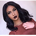 cheap Human Hair Wigs-Human Hair Glueless Lace Front / Lace Front Wig Brazilian Hair Body Wave Wig Bob Haircut / Layered Haircut / With Baby Hair 130% Natural Hairline / 100% Virgin / Unprocessed Women's Medium Length